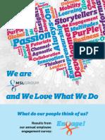 Engage! MSLGROUP Employee Survey Infographic