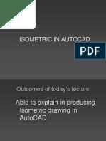 Isometric in AutoCAD