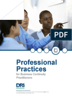 DRI International - Professional Practices for Business Continuity Practitioners - July 2014 Edition