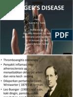 Buerger's Disease - Juanita R.L. Sulle (PP)