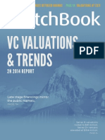 PitchBook 2H 2014 VC Valuations and Trends Report