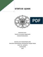 Cover Status Ujian