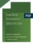 Cross-Border Enforcement of CyberCrime Laws