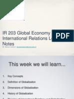 IR203 Week9 Globalization
