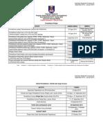 Kalendar Akademik Kump B September 2014 - Januari 2015