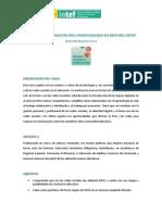 2014 Educacion Conectada Tiempos Redes