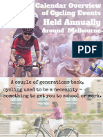 Yearly Cycling Events Happening in Melbourne