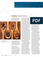 Chocolate Quality Testing