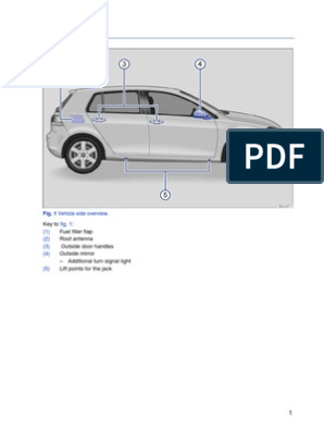 Golf Mk7 2014 Owners Manual pdf | Fuel Economy In Automobiles | Headlamp
