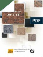 Aro Granite Annual Report 2013 14
