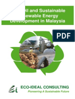 Palm Oil and Sustainable Renewable Energy Development in Malaysia