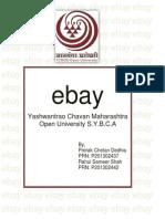 EBay Project for Sybca 3sem