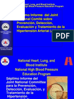 Charla de Hipertension . Jnc 7 .