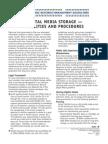 Digital Media Storage — Facilities and Procedures