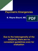 Psych Emergencies 2008