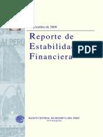 Reporte Estabilidad Financiera 2009 Noviembre