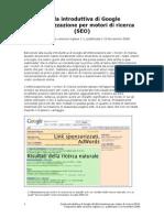 Search Engine Optimization Guida SEO Ufficiale