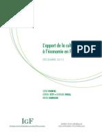 03 Rapport Igf Igac Culture Economie