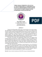 Effect of Firm Characteristics Financial Performance and Environmental Performance on Corporate Social Responsibility-libre