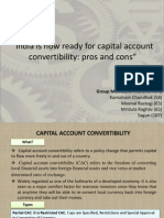 India is now ready for capital account convertibility