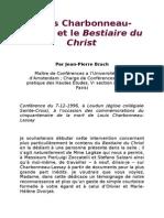 Brach, J.-p. - Louis Charbonneau-Lassay Et Le Bestiaire Du Christ