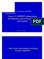 MOSFET details