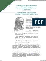 The Three Constitutions of Von Grauvogl