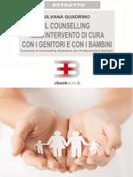 Il counselling nell'intervento di cura con i genitori e con i bambini - Estratto
