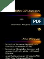 Silabus OSN Astronomi