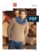 TX173 Katia Peru Mans Sweater Sml