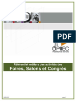 Unimev Opiiec Dossier Foires Salons Congr s