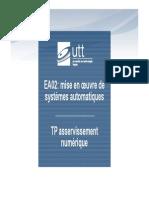 TP EA02 Asservissement