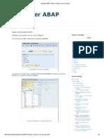 Aprender ABAP_ Añadir Un Botón en Un ALV Report
