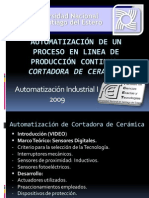 Automatización de un Proceso en linea de producción