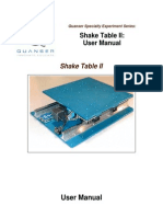 Shake Table II User Manual