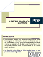 Cap 07 - Auditoria de La Direccion Informatica