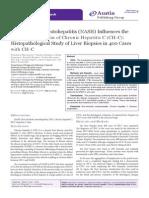 Non-Alcoholic Steatohepatitis (NASH) Influences the Disease Progression of Chronic Hepatitis C (CH-C)