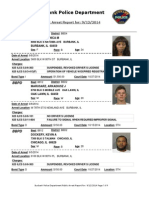 public arrest report for 12sep2014