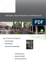 QlikView's Value Proposition to SAP Accounts