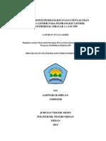 Analisa Sistem Pembangkitan dan Penyaluran Tenaga Listrik Pada Pembangkit Listrik Geothermal Sibayak 2 x 5.65 MW