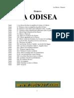 Homero La Odisea