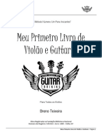Breno Teixeira - Meu Primeiro Livro de Violao e Guitarra - Para Iniciantes No Instrumento-libre