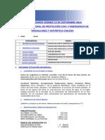 Informe Diario Onemi Magallanes 12.09.2014