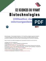 Cours Biotech Utilisation Des Microorganismes.2012