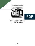 Martinez de Lezea Toti - Muerte en El Priorato