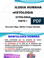 Citologia Primera Parte
