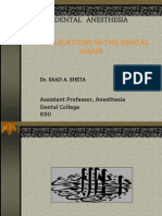 Complication in Dental Chair