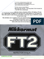 Nikon Nikkormat Ft2 Color