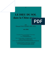 Chavannes, Eduoard - Le Dieu Du Sol Dans La Chine Antique - E-Text Version