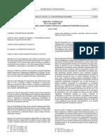 Directiva 89-686-CEE - Echipament Individual de Protectie